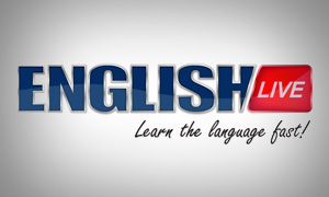 Logo Design for English Live School